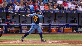 BOS@TB: Rays score all their runs via the home run