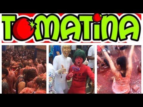 La Tomatina 2016/ Tomato Festival !!!