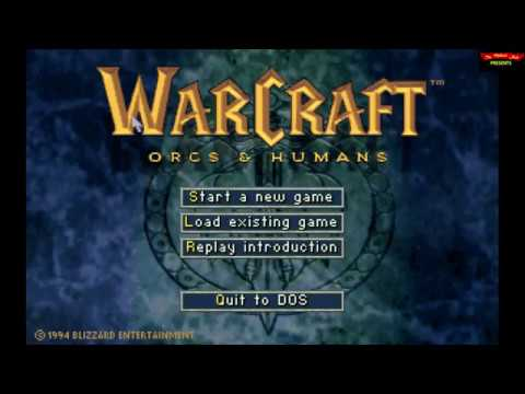 Warcraft : Orcs & Humans (1994) - DOS Gameplay Video (PC MS-DOS)