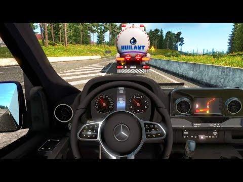 Euro Truck Simulator 2 - Mercedes-Benz Sprinter 2019