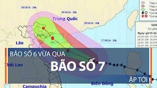 Bão số 6 vừa qua, bão số 7 ập tới | VTC1