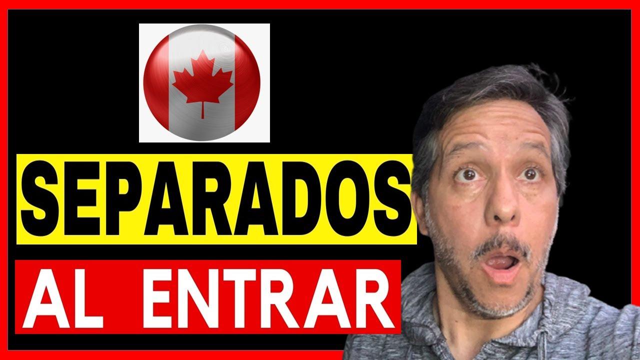 ⛔ Separan a los Viajeros Entrando a CANADÁ!!! 🇨🇦 / (5 COSAS que Debes Saber para Entrar a Canadá)