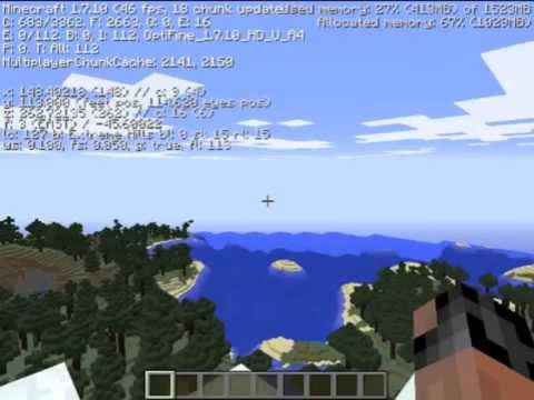 Minecraft Stress Test - ATI Mobility Radeon HD 4530