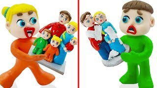 Luka Family and Friends 🔨 Baby Building DIY Sculpture 🔨 Cartoons For Kids