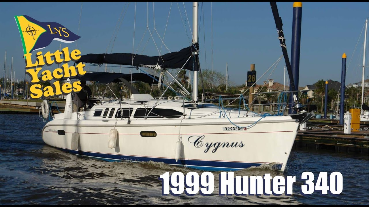 Sold 1999 Hunter 340 Sailboat For Sale At Little Yacht Sales Kemah Texas