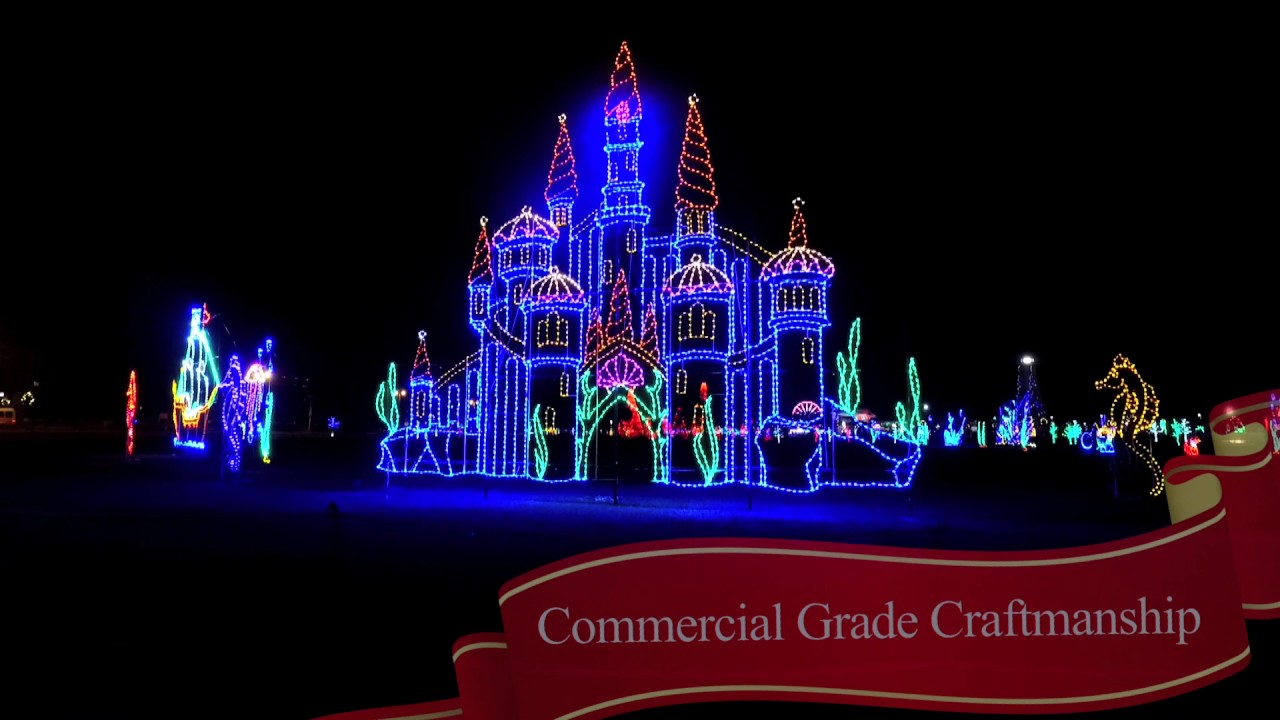jones park light show 2016 by universal concepts
