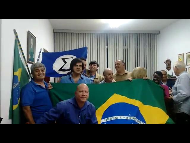 Encontro dos Integralistas e Linearistas com membros da OBI de Campinas dia 31 de maio de 2017