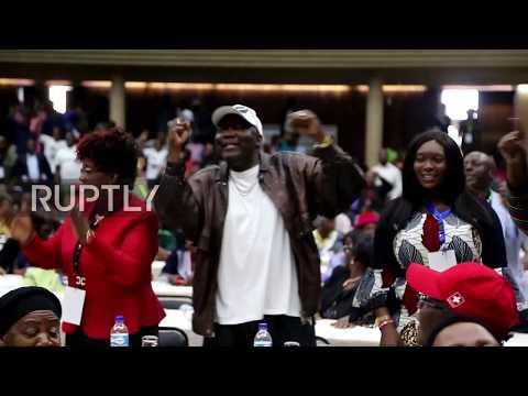 Zimbabwe: ZANU-PF members sing and dance as Mugabe sacked as party leader