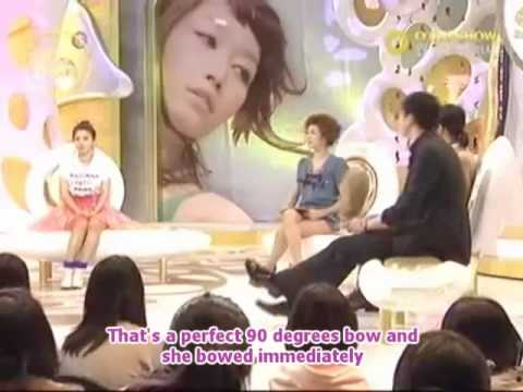 Olive Show HwangBo part 1 [eng sub]