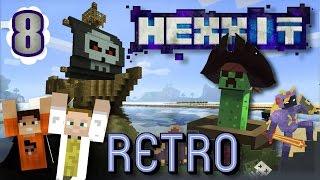 [GEJMR] Retro Hexxit s GoGem - ep. 8 - Golem a Piráti!