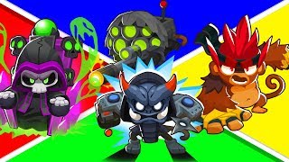 Bloons TD 6 - 4-Player Overwatch Challenge | JeromeASF