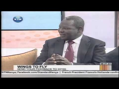 Equity Bank: Wings to Fly Scholarship Interview with Dr. James Mwangi and Beneficiaries