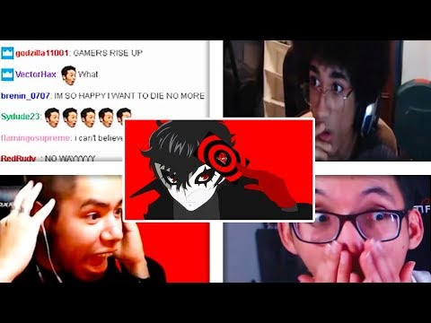 All Reactions to Joker from Persona 5 Reveal Trailer - Super Smash Bros. Ultimate