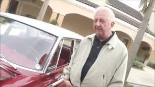 1965 Dodge Coronet 440 Four Door Sedan MaroonWht TheVillages012018