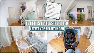 Babybett ist fertig 🥰 Hausgeburt gefährdet? Einleitung? | ET+4 | Isabeau