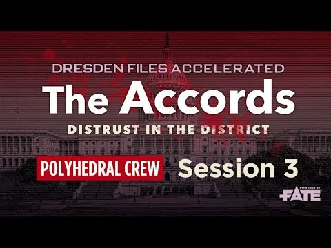 Dresden Files Accelerated S1E3 — The Accords: Distrust in the District