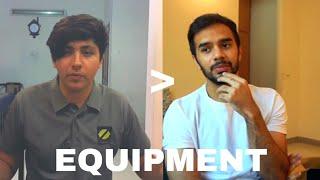 My Equipment is better than Irfan Junejo
