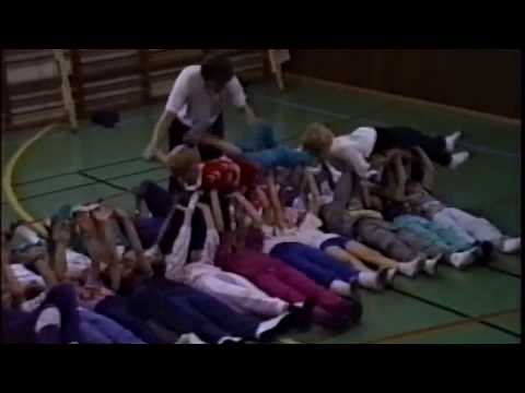 Hvalsø skole. 5A Island 1990