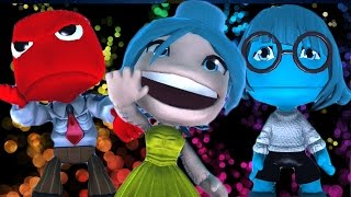 Epic LBP3 Costumes - Episode 12 - Inside Out Edition - Disgust, Sadness, Joy, Anger, Fear and More