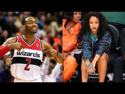 John Wall Caught CREEPING on Rihanna