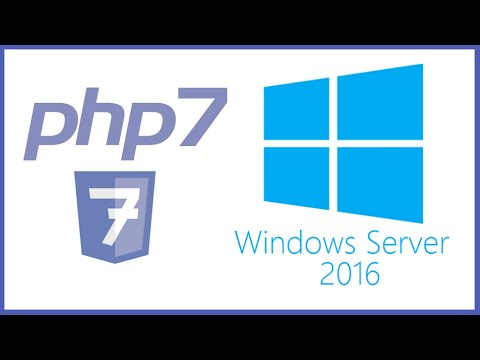PHP - How To Manually Install PHP on IIS 10 0 for Windows Server 2016