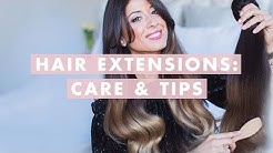 Hair Extensions: Care and Tips   Luxy Hair