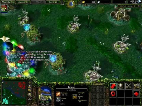 warcraft 3 map - dota ai 6.77 ai 1.4b r2