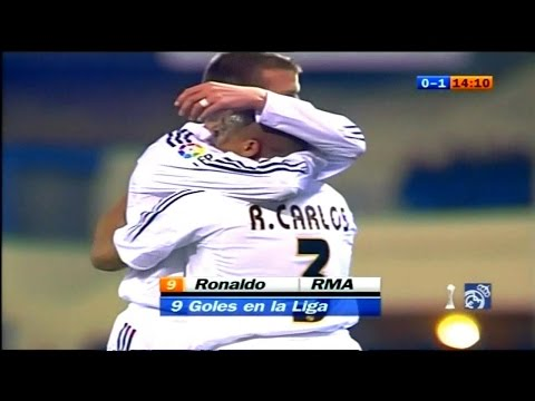 real madrid vs atletico madrid 2004/2005 full match 3-0 En el Vicente Calderón