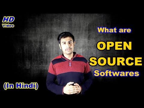 What are open source softwares ? Open source / freeware (In Hindi)
