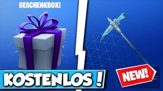 🎁FREE BLACK HACKs in FORTNITE!! 😱 - NEW GIFT in FORTNITE!!