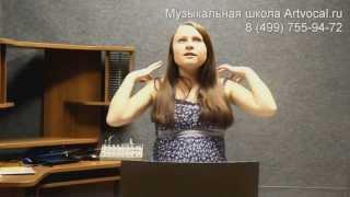 Работа с челюстью при исполнении песен. Видео урок