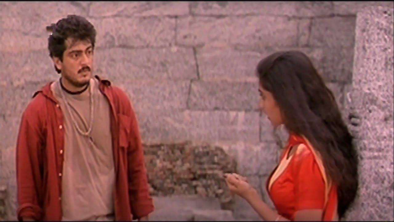 Ajith Shalini Romantic Scene | Superhit Action RomanticMovie Amarkalam | Ajith | Shalini