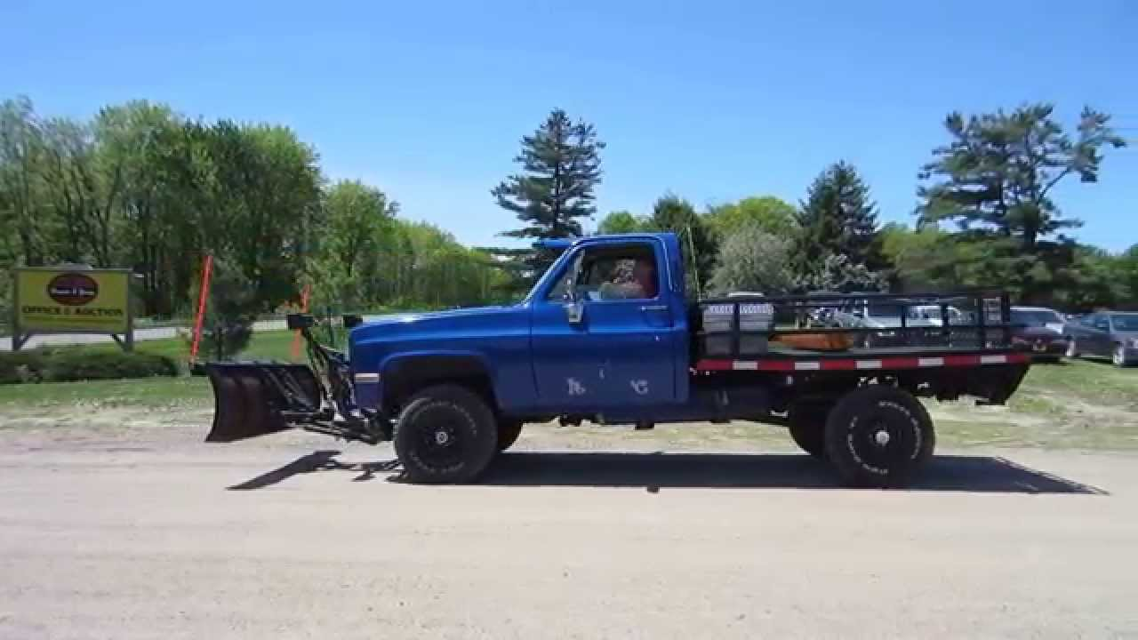 1984 chevrolet k10 pickup truck for sale by online auction