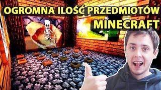 Minecraft Po Polsku Survival na Modach | OGROMNA ILOŚĆ PRZEDMIOTÓW