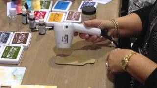 CHA 2014 - Ranger Ink - Wendy Vecchi Archival Ink Technique Demo