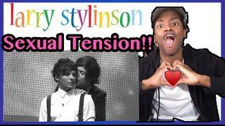 Harry & Louis (Larry Stylinson) - Sexual Tension Reaction