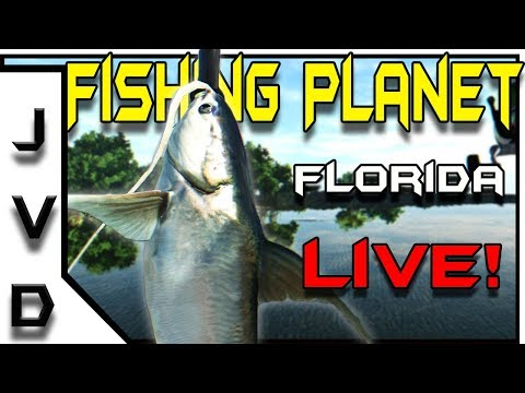 Fishing Planet Live! | 1,000 Subscriber Celebration! | Florida Evergalades
