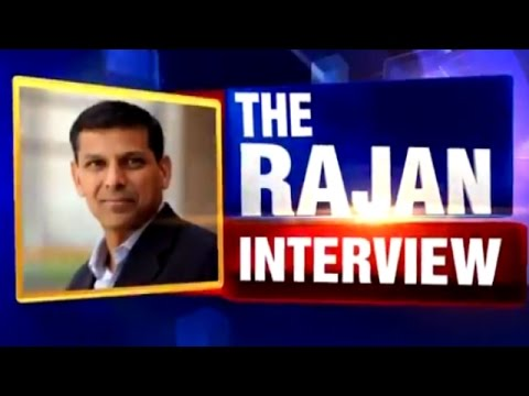 RBI Governor Raghuram Rajan's Exclusive Interview