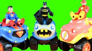 Imaginext Justice League Turns Into DC Super Friends Herodrive ! Superhero Toys