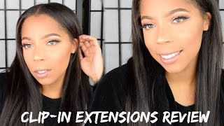 Clip in Hair Extensions, 22 inches! Aliexpress Hair Review