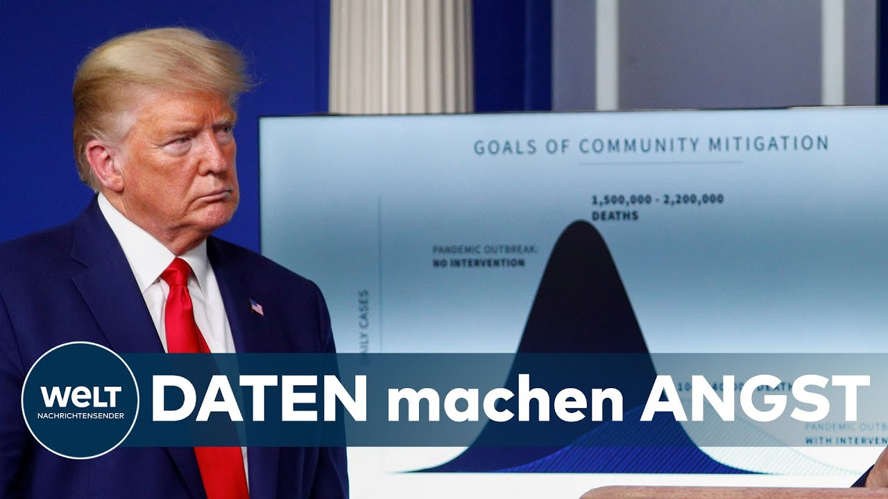 WELT THEMA ZU COVID-19: Trump in der Corona-Krise -