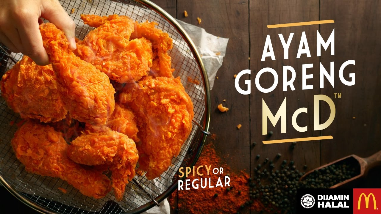 Ayam Goreng Mcd Prepared Fresh Served Hot And Crispy Youtube
