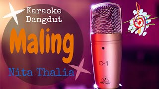 Karaoke dangdut Maling - Nita Thalia || Cover Lagu Dangdut no vocal