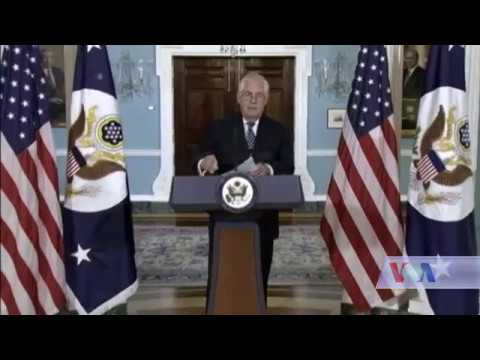 Tillerson: Unchecked Iran Could Become Global Threat -VOA As