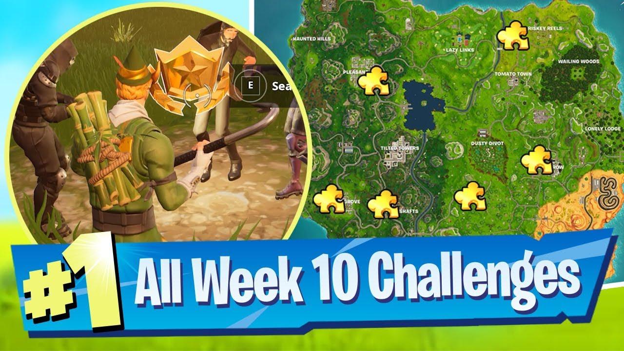 Fortnite Season 5 Week 10 Challenges Guide Jigsaw Piece Locations