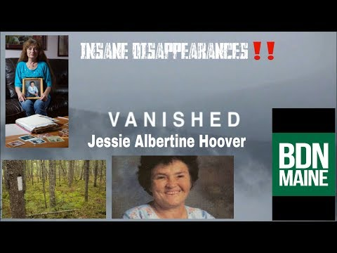INSANE DISAPPEARANCES‼️                                   Jessie Albertine Hoover