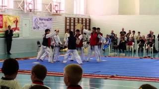 Выступление сборной КНДР по тхеквондо в Великом Новгороде 31 мая 2015