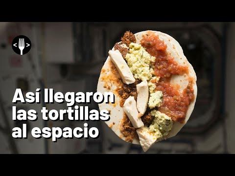 Así llegaron las tortillas al espacio