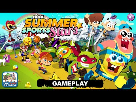 Nick Summer Sports Stars - Compete In The Wackiest Summer Games (Nickelodeon Games)