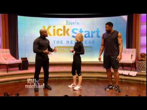 Dolvett Quince on Live with Kelly and Michael part 1 1515